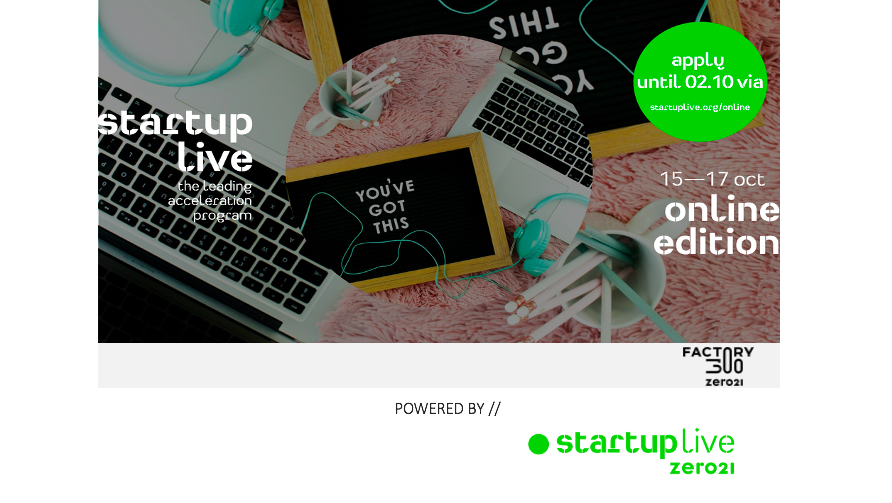 Startup Live Linz — boost your startup