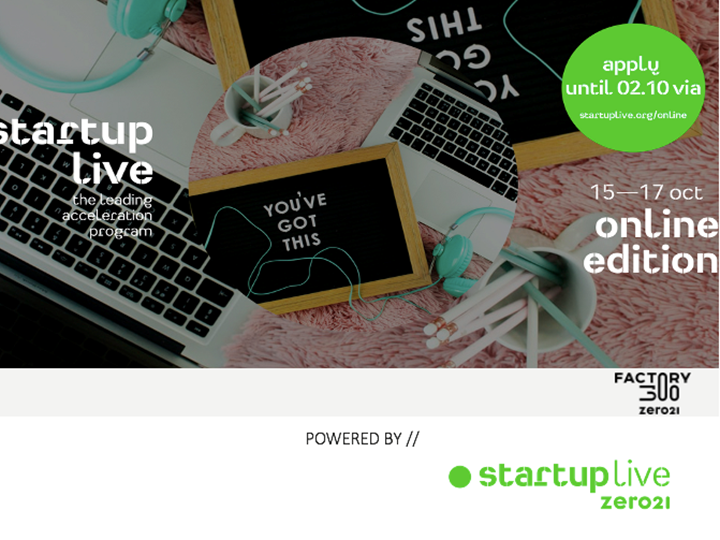 Startup Live Online — boost your startup