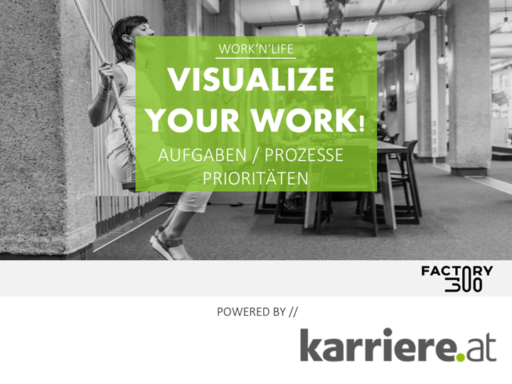 Visualize your work!