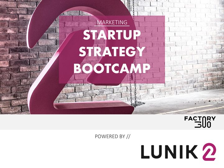 Startup Strategy Bootcamp (sold out)