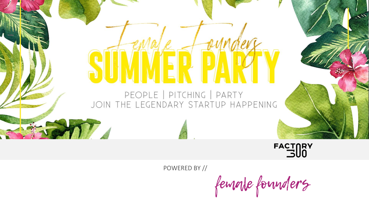 Female Founders Summer Party #VIENNA