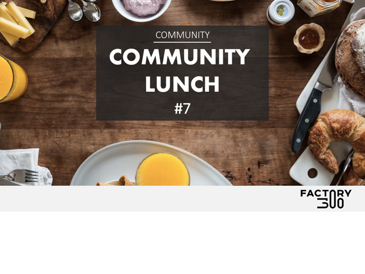 Community Lunch #7 - Gourmet